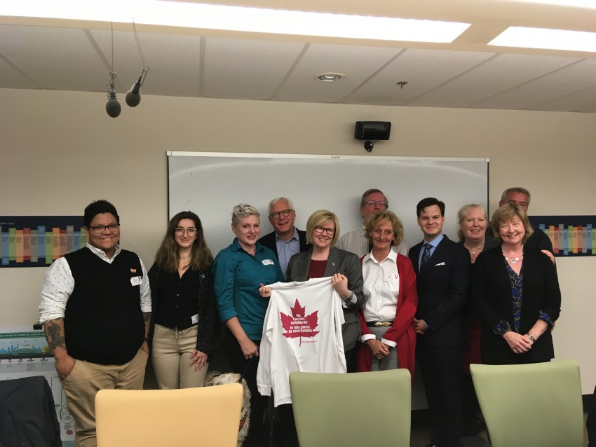 Accessible Canada Act meeting with Minister Qualtrough and FALA