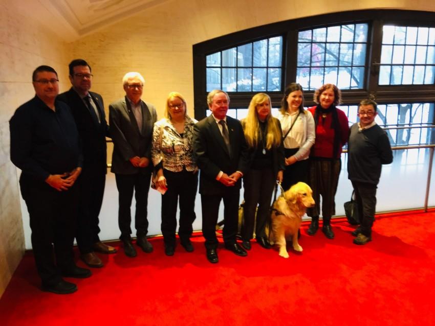 FALA Team with Senator Munson