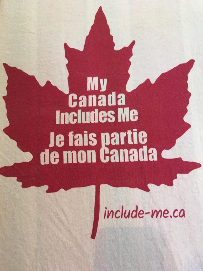 My Canada Includes Me / Je fais partie de mon Canada