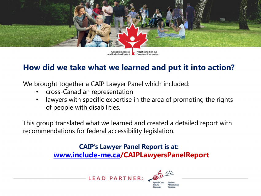 How did we take what we learned and put it into action?