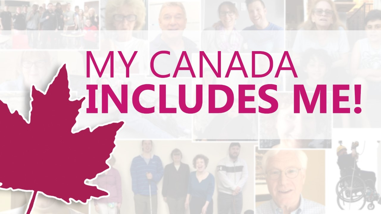 My Canada Includes Me image for Accessible Canada Act passing